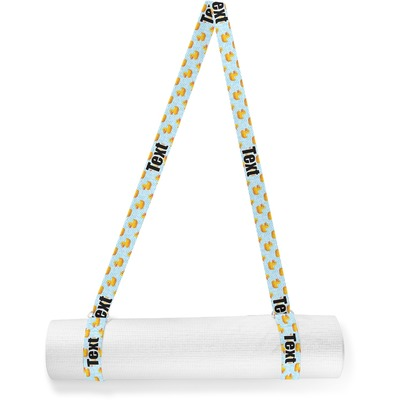 Rubber Duckie Yoga Mat Strap (Personalized)