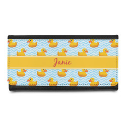 Rubber Duckie Leatherette Ladies Wallet (Personalized)