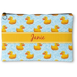 Rubber Duckie Zipper Pouch (Personalized)