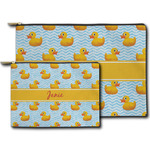Rubber Duckie Zipper Pouch (Personalized)