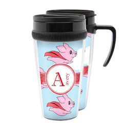Flying Pigs Acrylic Travel Mugs (Personalized)