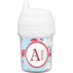 Flying Pigs Baby Sippy Cup (Personalized)