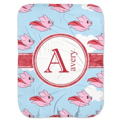 Flying Pigs Baby Swaddling Blanket (Personalized)