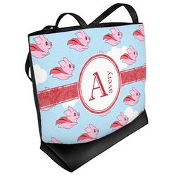 Flying Pigs Beach Tote Bag (Personalized)