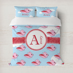 Flying Pigs Duvet Cover (Personalized)