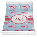 Flying Pigs Comforter Set (Personalized)