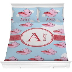 Flying Pigs Comforters (Personalized)
