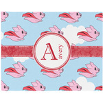 Flying Pigs Placemat (Fabric) (Personalized)