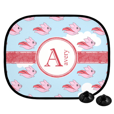 Flying Pigs Car Side Window Sun Shade (Personalized)