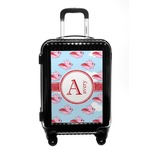 Flying Pigs Carry On Hard Shell Suitcase (Personalized)