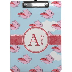 Flying Pigs Clipboard (Personalized)