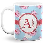 Flying Pigs 11 Oz Coffee Mug - White (Personalized)