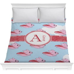 Flying Pigs Comforter (Personalized)