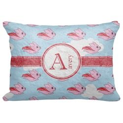"Flying Pigs Decorative Baby Pillowcase - 16""x12"" (Personalized)"