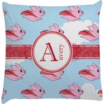 Flying Pigs Decorative Pillow Case (Personalized)