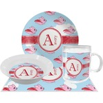 Flying Pigs Dinner Set - 4 Pc (Personalized)