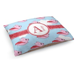 Flying Pigs Dog Pillow Bed (Personalized)