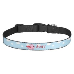 Flying Pigs Dog Collar - Multiple Sizes (Personalized)