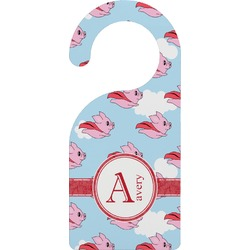 Flying Pigs Door Hanger (Personalized)