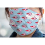 Flying Pigs Face Mask Cover (Personalized)