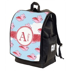 Flying Pigs Backpack w/ Front Flap  (Personalized)