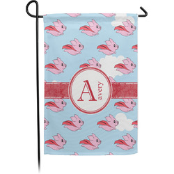 Flying Pigs Garden Flag - Single or Double Sided (Personalized)
