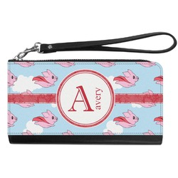 Flying Pigs Genuine Leather Smartphone Wrist Wallet (Personalized)