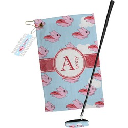 Flying Pigs Golf Towel Gift Set (Personalized)