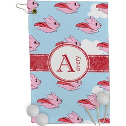 Flying Pigs Golf Towel - Full Print (Personalized)