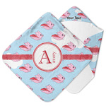 Flying Pigs Hooded Baby Towel (Personalized)