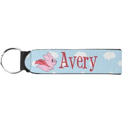 Flying Pigs Keychain Fob (Personalized)