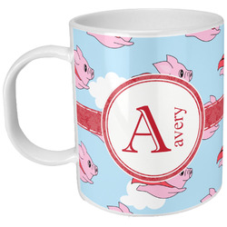 Flying Pigs Plastic Kids Mug (Personalized)