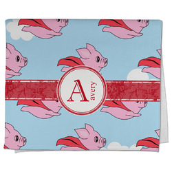 Flying Pigs Kitchen Towel - Full Print (Personalized)