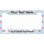 Flying Pigs License Plate Frame (Personalized)