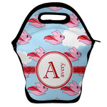 Flying Pigs Lunch Bag w/ Name and Initial