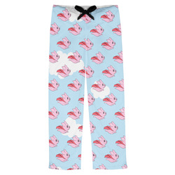 Flying Pigs Mens Pajama Pants (Personalized)