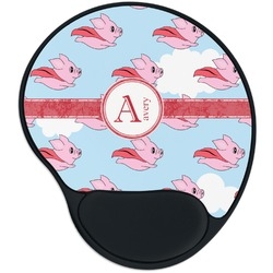 Flying Pigs Mouse Pad with Wrist Support
