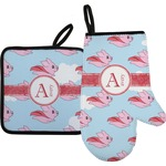 Flying Pigs Oven Mitt & Pot Holder (Personalized)