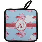 Flying Pigs Pot Holder (Personalized)