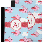 Flying Pigs Notebook Padfolio w/ Name and Initial