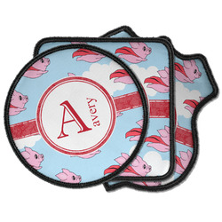 Flying Pigs Iron on Patches (Personalized)