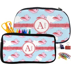 Flying Pigs Neoprene Pencil Case (Personalized)