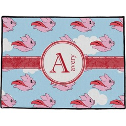 Flying Pigs Door Mat (Personalized)