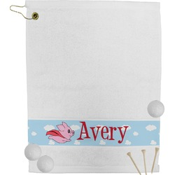 Flying Pigs Golf Towel (Personalized)