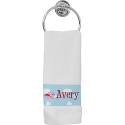 Flying Pigs Hand Towel (Personalized)