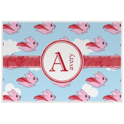 Flying Pigs Placemat (Laminated) (Personalized)