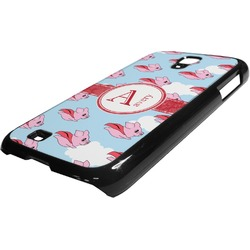 Flying Pigs Plastic Samsung Galaxy 4 Phone Case (Personalized)