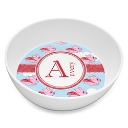Flying Pigs Melamine Bowl 8oz (Personalized)