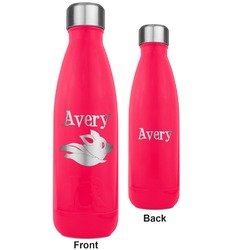 Flying Pigs RTIC Bottle - 17 oz. Pink - Engraved Front & Back (Personalized)