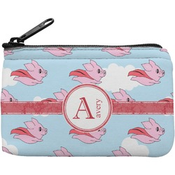 Flying Pigs Rectangular Coin Purse (Personalized)